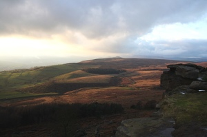 High Neb to Stanage, Peak District