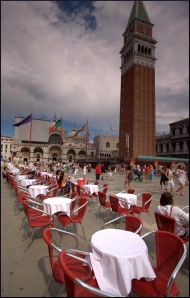 Tower over St Mark's Square