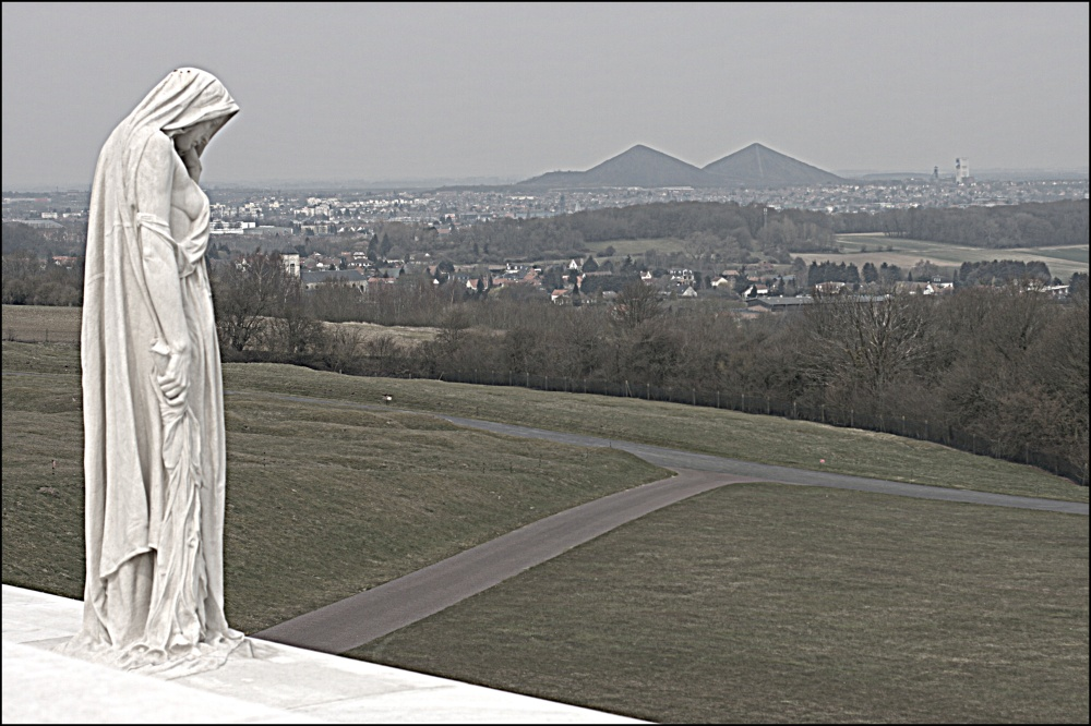 Mother Canada, the Vimy Memorial