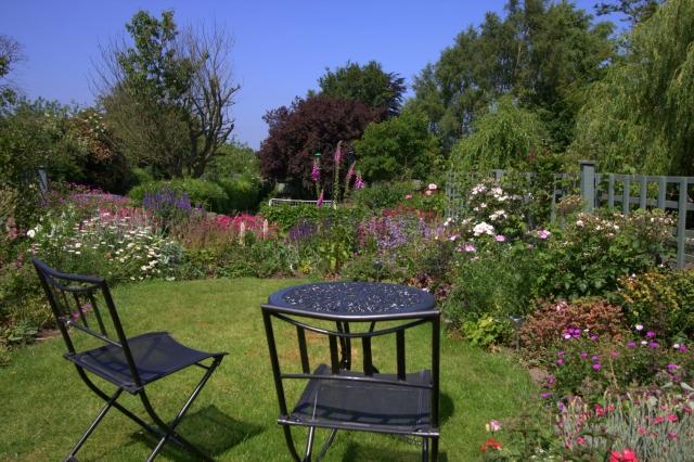 Hidden garden with hidden goal!