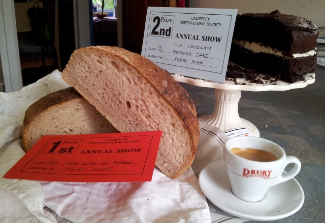 Bread, cake and coffee, all winners!