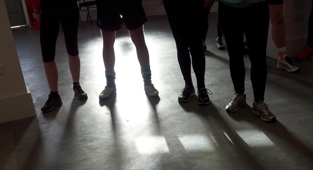 Run, art, eat, drink, the Tetley Art Run with the Veggie Runners