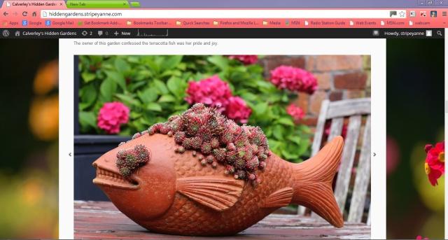 The Hidden Gardens of Calverley interweb page