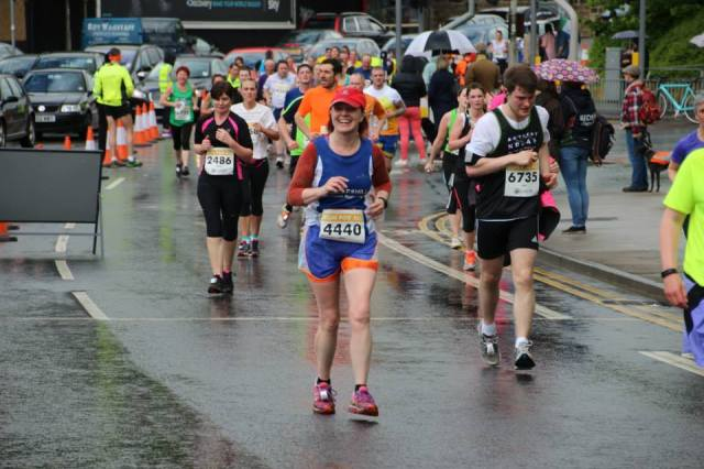 Thanks to Tricia Grant, fellow Eccleshill Road Runner, for the photo.