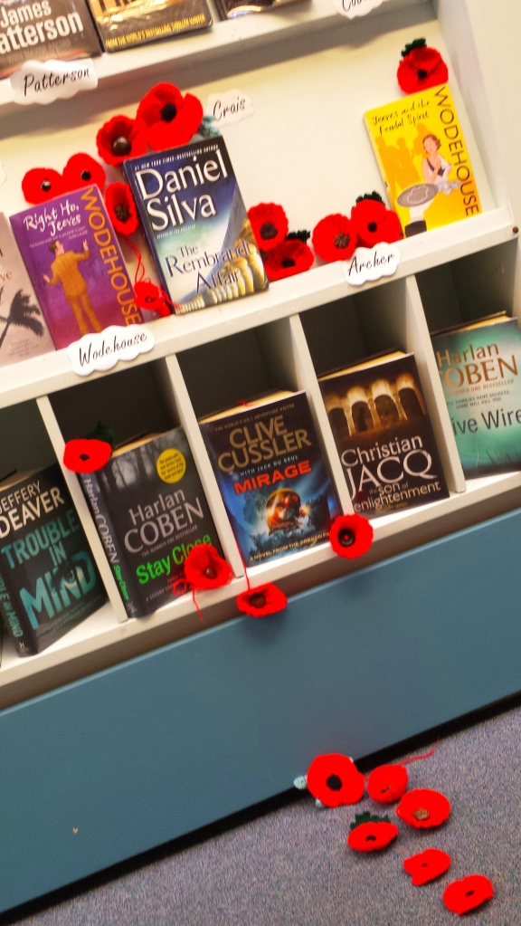 Poppies among the popular fiction