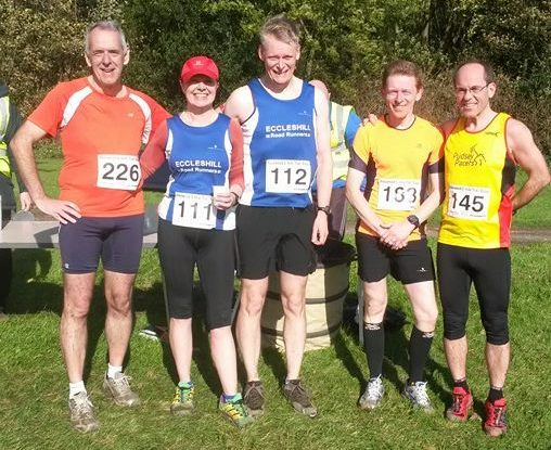 After the Harewood Eight  Miles, that's 12.875km