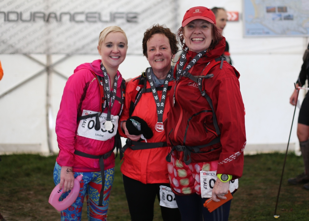 Lou, Vicki and me. Team Project Trail